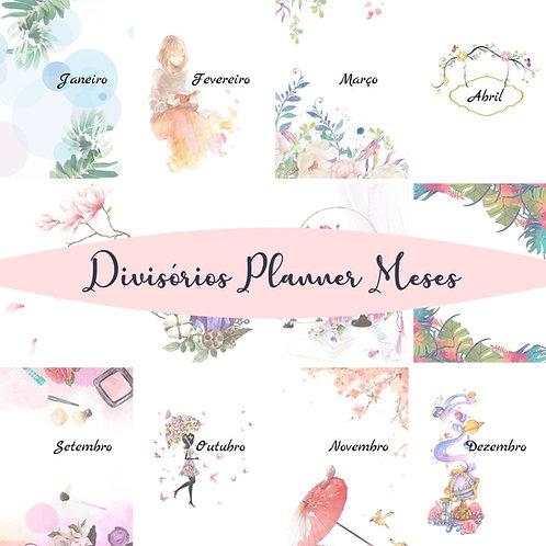 Divisórias para Planner A5