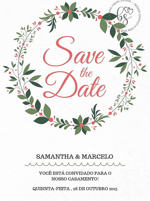 Convites Personalizados Save The Date