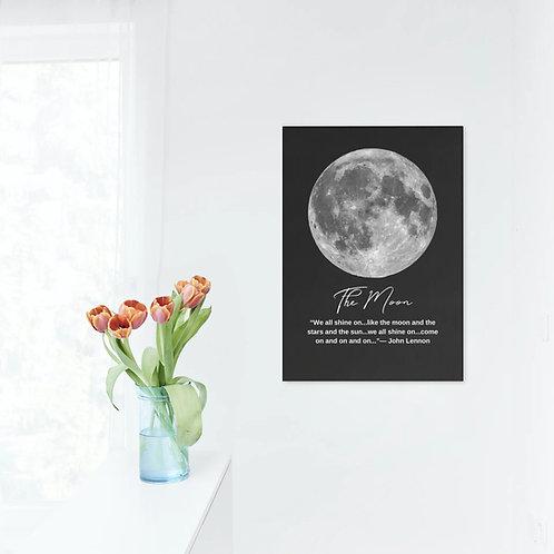 Quadro Digital Lua