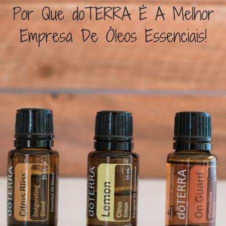 Porque a DoTerra é a Melhor Empresa de Óleos Essenciais?