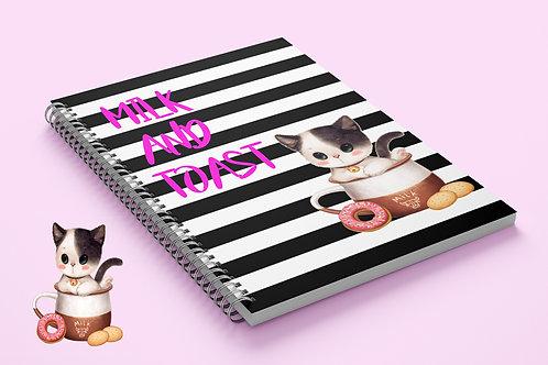 Miolo Digital Caderno Gatinhos