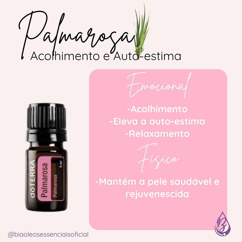 óleo essencial palmarosa, palmarosa, doterra, óleos essenciais, aromaterapia