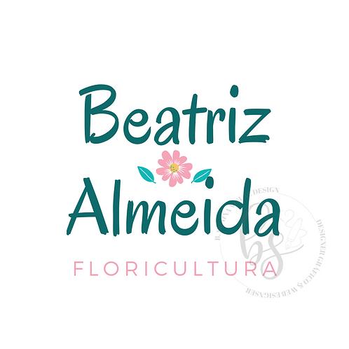 Logotipo Floricultura Pré-Criado