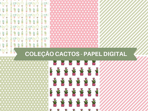 Papel Digital Cactos