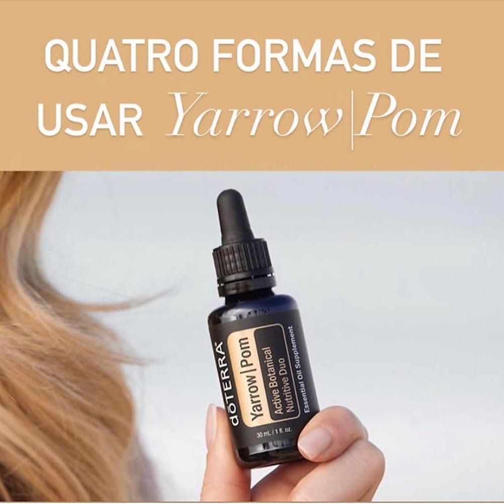 yarrow pom, dicas de beleza, óleos essenciais, doterra