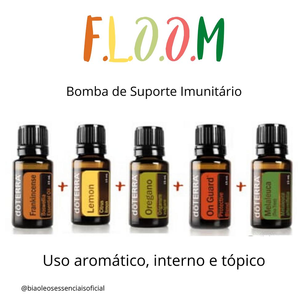 floom, bomba imunologica, frankincense, onguarde, doterra, oleos essenciais, oregano, limão, lemon, melaleuca,olíbano