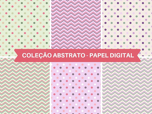 Papel Digital Abstrato Bolinhas