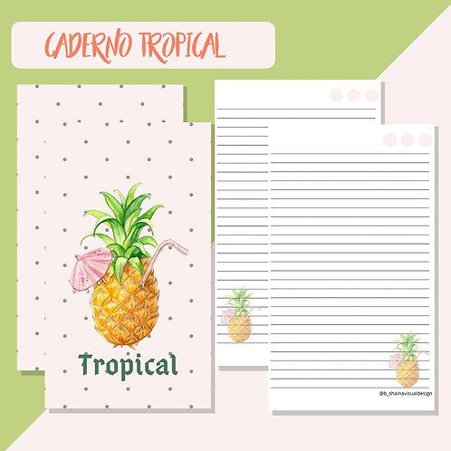 Miolo Digital Caderno Tropical