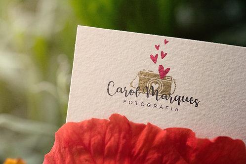 Logotipo Fotografia Pré-Criado