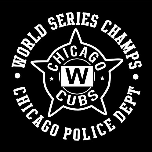 CPD CUBS STICKER