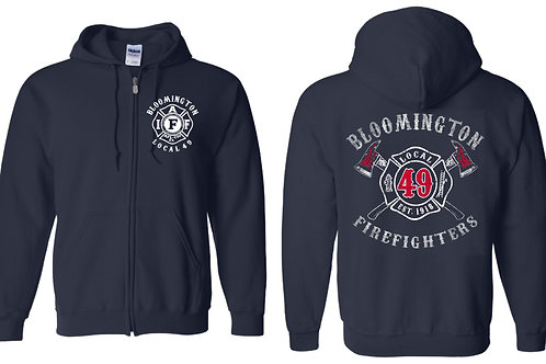 Union Zip-Hoodie Sweatshirt