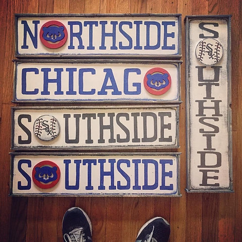 Chicago Sports Sign