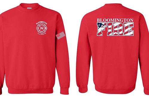 Duty RED Crewneck Sweatshirt