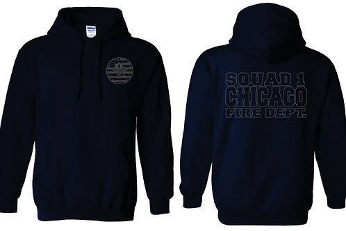 Sq 1 Gray Toned Hoodie