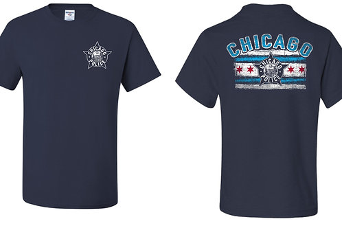 CPD (Police) Chicago Flag