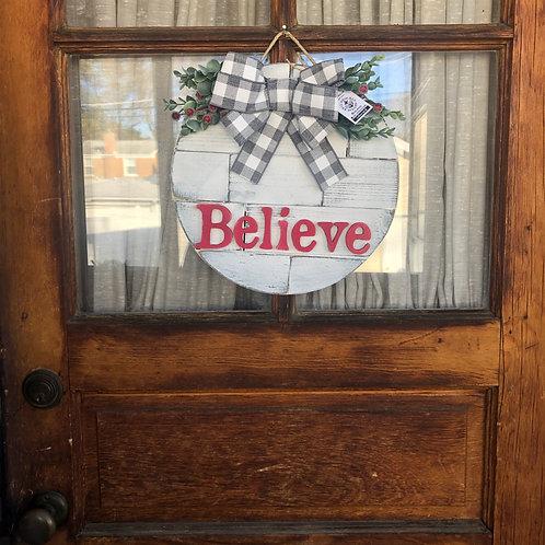 Believe Round