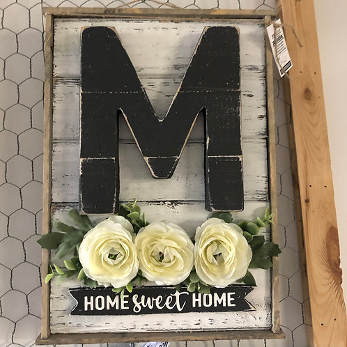 Monogram Home Sweet Home