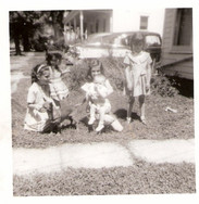 019 Vickie with dog and sisters.jpg