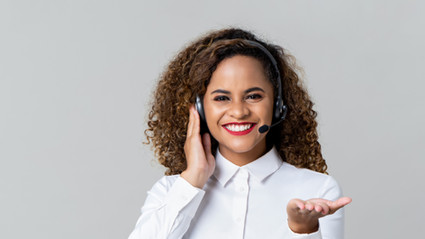 cheerful-call-center-woman-with-headphon