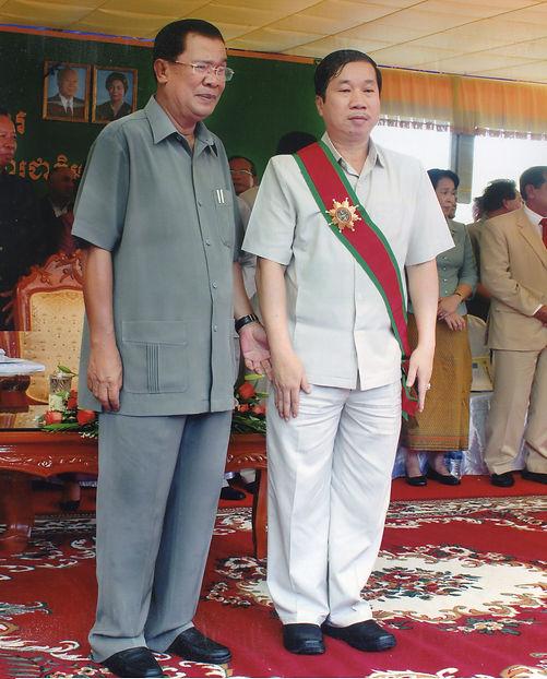 HUN SEN PRIME MINISTER OF CAMBODIA (2)(1