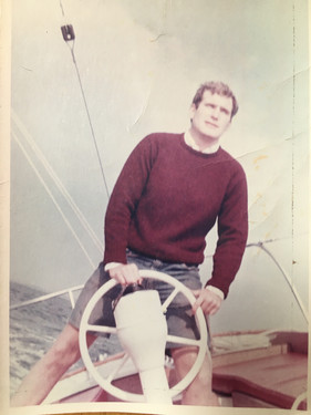 Younger Rupe at the helm.JPG