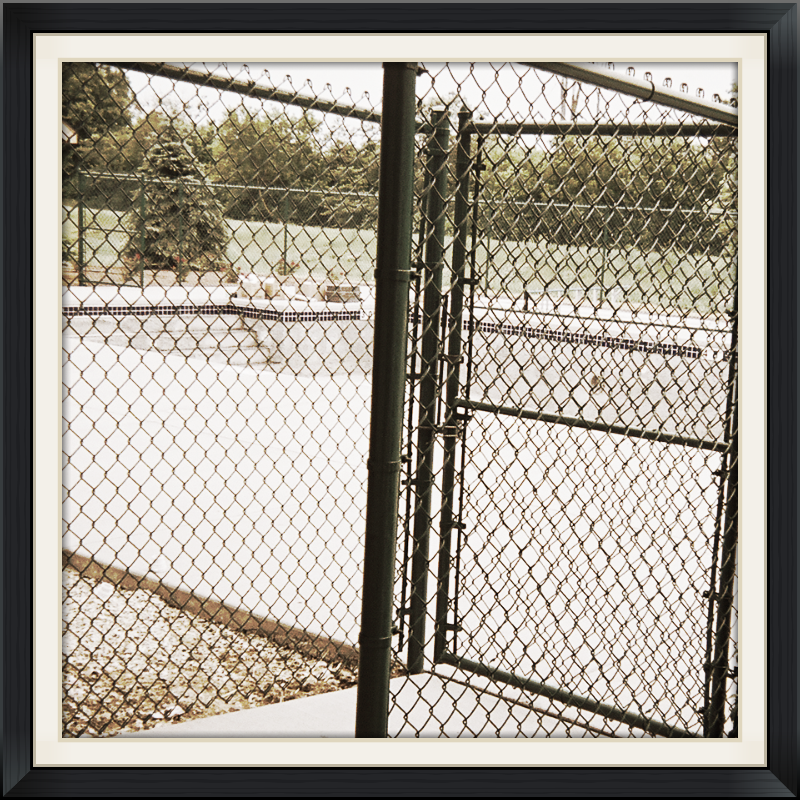 Colored Chain Link Fences
