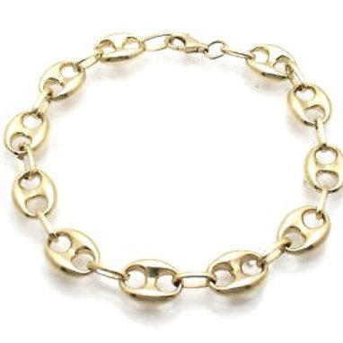 10mm Puff Link Bracelet