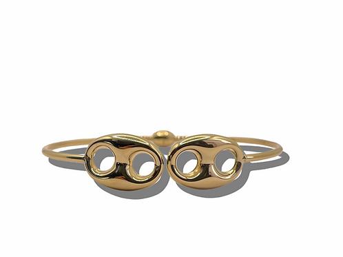 16mm Puff Gold bracelet