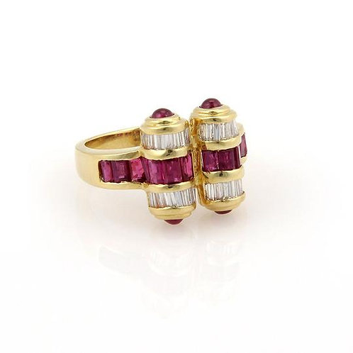 Choice of Ruby 18K Rings