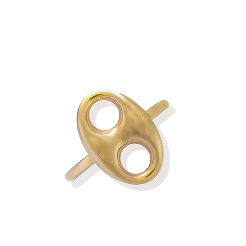 Puff Link Ring Multiple Sizes