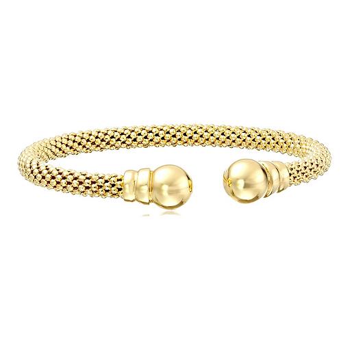 Classic Italian Gold Stretchable Bracelet