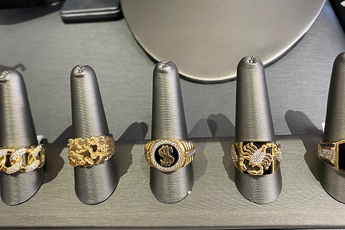 CLEARANCE 14k Men's Rings