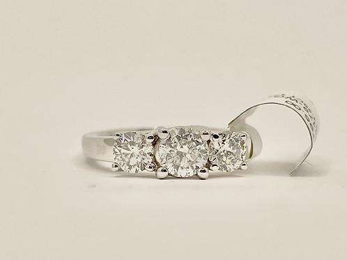 Past Present and Future Diamond Ring