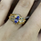 Thumbnail: Marquise and Baguette Tanzanite Diamond Ring