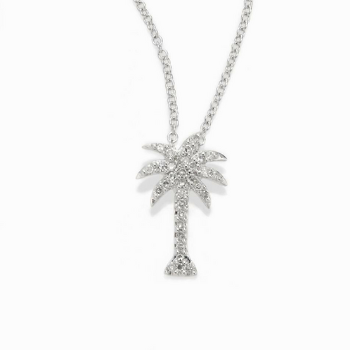 1/2 ct Diamond Palm Tree