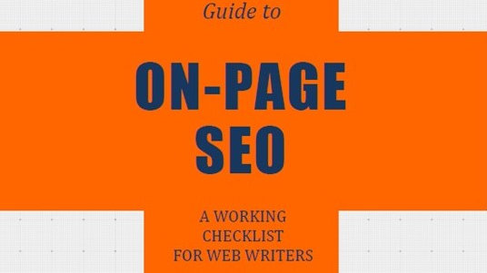 Users Guide to On-Page SEO