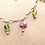 Thumbnail: #1452 Tourmaline nugget necklace