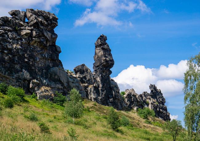 Mittelsteine - Mönchsfelsen