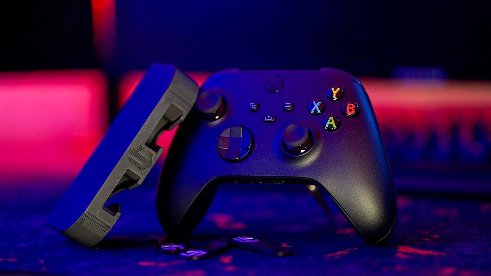 (DUO PACK)  KRATOS Under desk Controller Mount (Xbox)