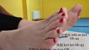 足臨泣 Ashi no rin kyū  GB 41