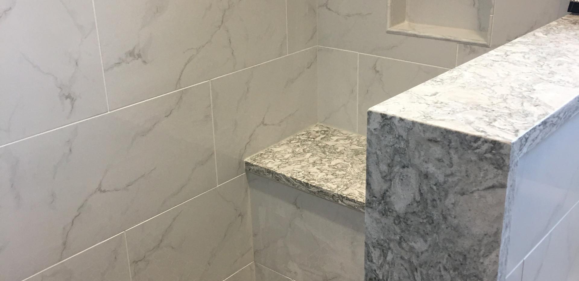 more shower details