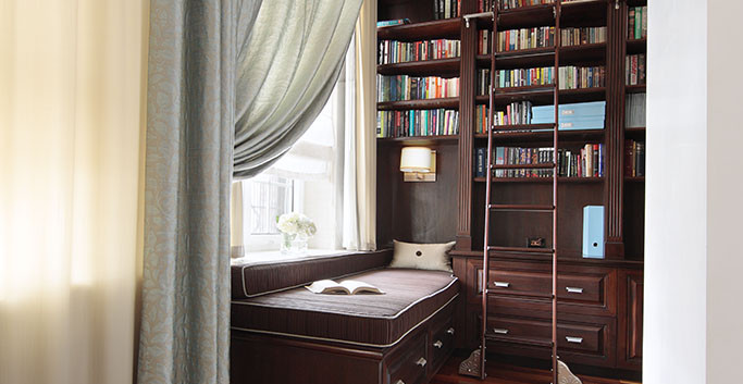 Master bedroom study
