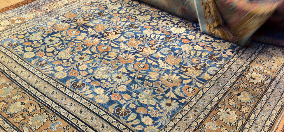 Antique and Semi Antique rugs from all o