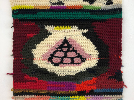 """""""Crochet & Painting"""" with Elizabeth Thach"""