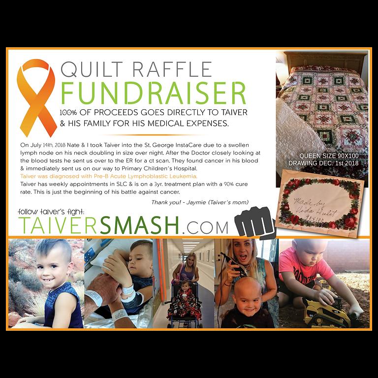 Quilt Raffle Fundraiser