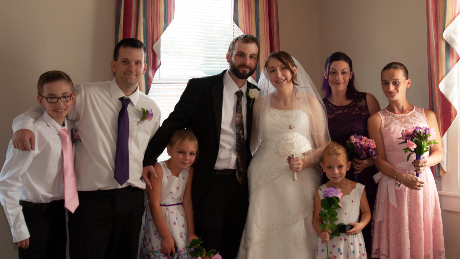Whole Family Pose