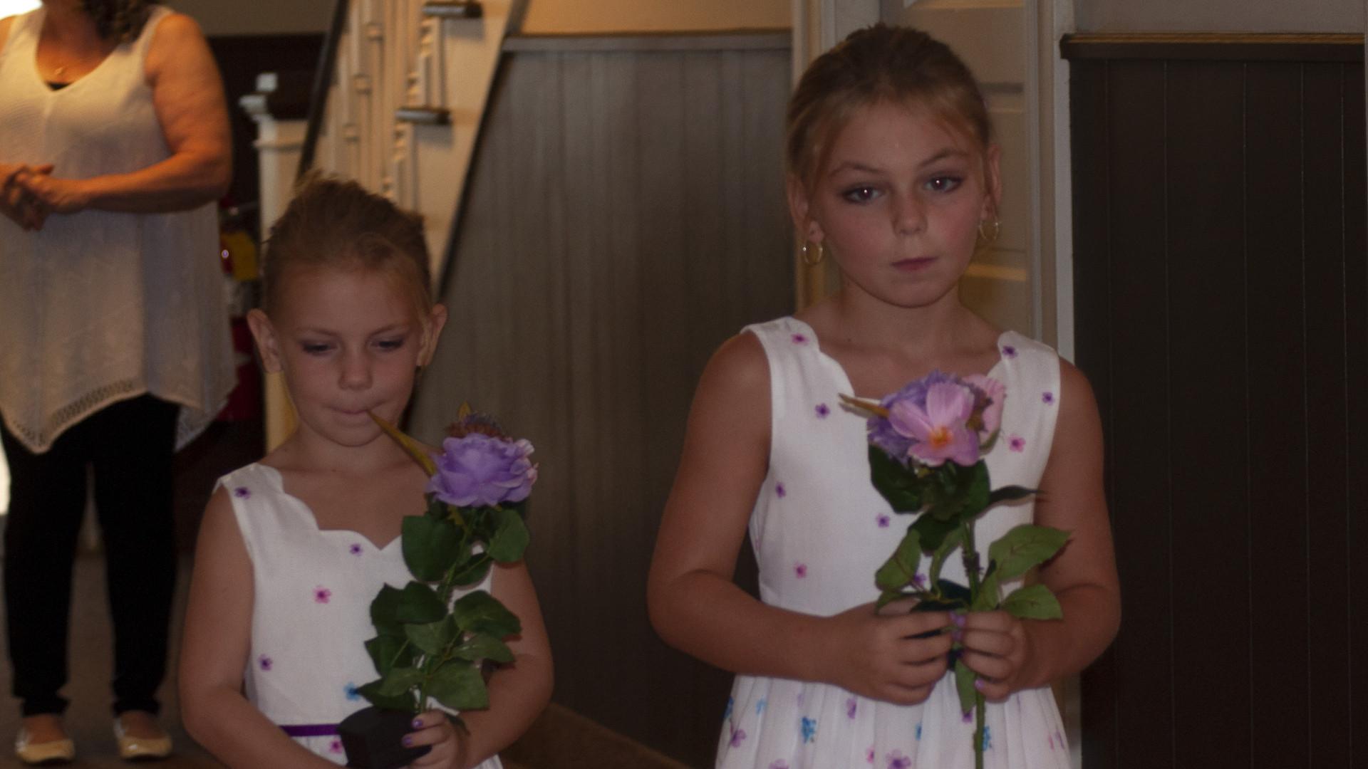 Flower Girls Aisle