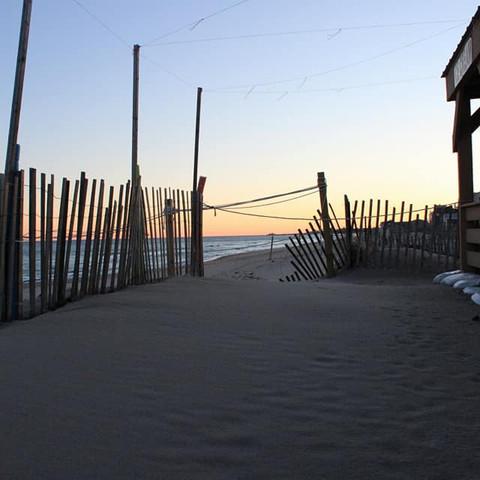 Misquamicut Beach Sundown