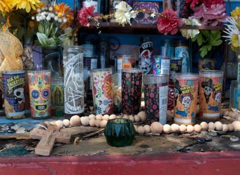 Dia de los Muertos Shrie