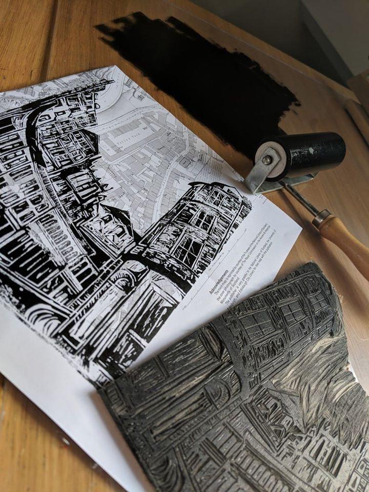 Print and brayer